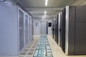 T+B Serverraum innen