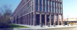 T+B Bürogebäude am Park Außenansicht